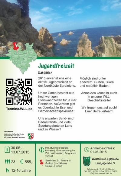 Jugendfreizeit Sardinien 2015