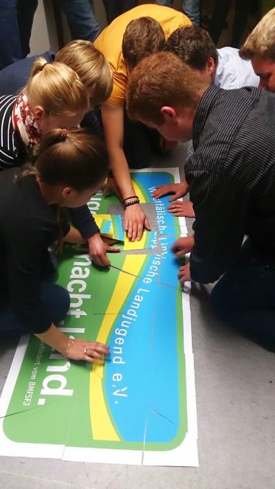 Vellinghausen-Eilmsen löst das Puzzle um die Jahresaktion 2015! (Foto: WLL)