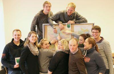Auf Kurs - Der neue WLL-Vorstand auf der Dezember-Klausur in Münster (Foto: WLL)