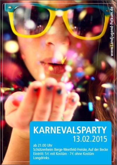 Karnevalsparty Landjugend Pelkum 2015