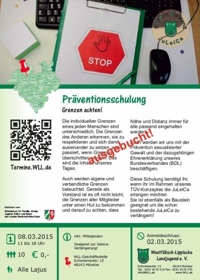 Präventionsschulung