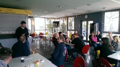(Foto: Jakobs) Diskussionsrunde zum Thema ländlicher Raum