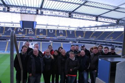 (Foto: Jakobs) Zu Besuch in der Commerzbank Arena