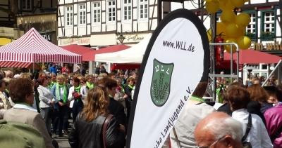 (Foto: Vanessa Weber) Die WLL auf dem Soester Bördetag