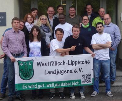 """(Foto: WLL) Es gab viele Infos, Lebensgeschichten und Fragen: Infoveranstaltung """"Flüchtlinge in Westfalen-Lippe"""" in Soest"""