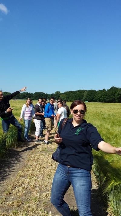 (Foto: Weber) Mit unseren französischen Gästen unterwegs!
