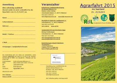 Agrarfahrt 2015