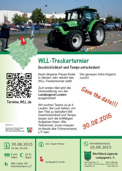 Save the date - WLL-Treckerturnier