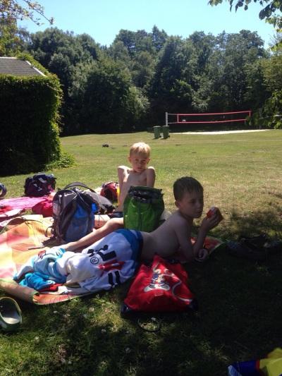 (Foto: Bußmann) Relaxen im Schwimmbad