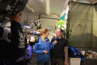 (Foto: WLL) Der WDR im Gespräch mit Manuel Herzig von der Landjugend Hennen