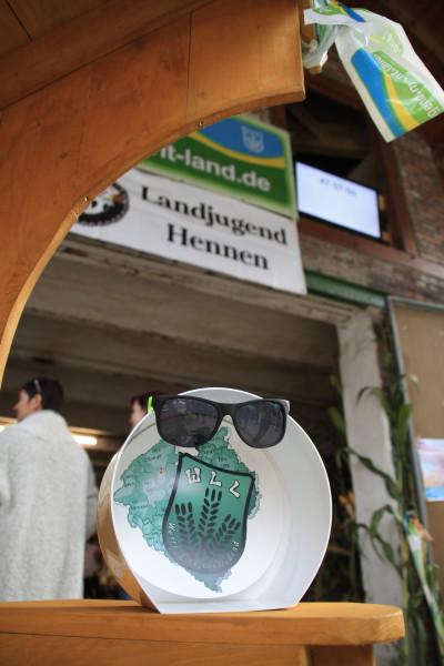 (Foto: WLL) Der WLL-Punkt bei der Landjugend Hennen