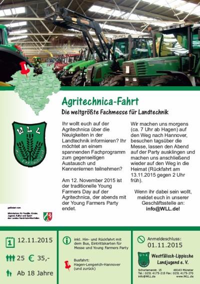 Agritechnica-Fahrt