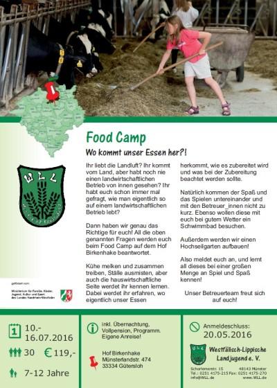 Food Camp-2016