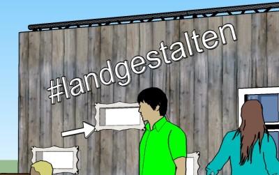 (Bild: WLL) Die ersten Ideen nehmen Gestalt an. Mach mit und präsentiere die Landjugend in Berlin!