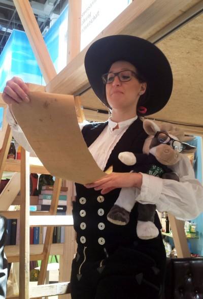 (Bild: WLL) Auch ein Richtfest gab es - Wilma war exklusiv dabei!