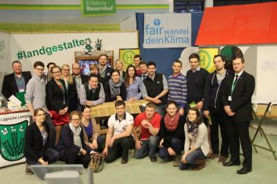 (Foto: WLL) Die Österreichische Landjugend besucht uns am Stand!