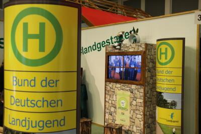 (Foto: WLL) Das Aktivfenster zeigt, wie in ganz Deutschland Landjugend Land gestaltet