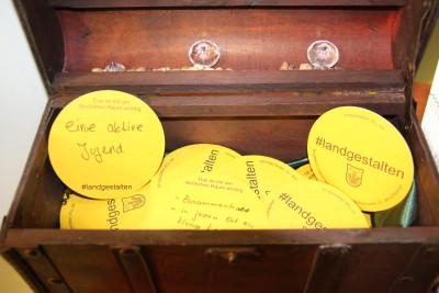 (Foto: WLL) Hier wurden viele Werte des ländlichen Raumes der Gäste gesammelt