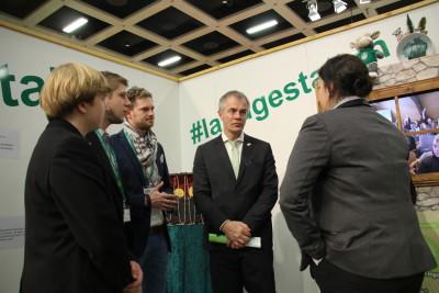 (Foto: WLL) Minister für Klimaschutz, Umwelt, Landwirtschaft, Natur- und Verbraucherschutz des Landes Nordrhein-Westfalen Johannes Remmel