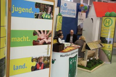 (Foto: WLL) und los ... Der vierte Tag auf der IGW in Berlin für die WLL