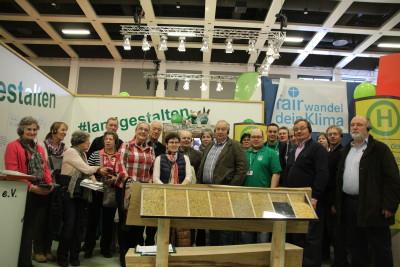 (Foto: WLL) Der Rheinischer Landwirtschaftsverband zu Gast bei der Landjugend auf der IGW