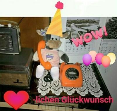Geburtstagsgrüße von Wilma Foto-Michael