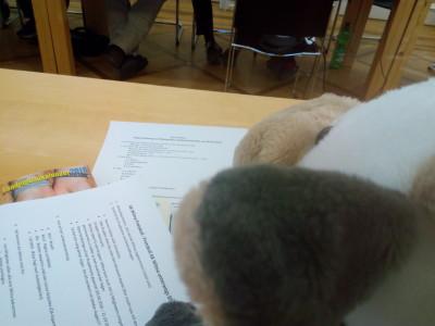 (Foto: Weber) Wilma wird auf die Tagesordnung achten und die Zeit im Auge behalten.