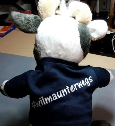 (Foto: Weber) Und fertig ist Wilmas T-Shirt