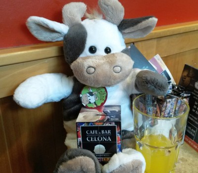 Wilma im Cafe Foto-Witte