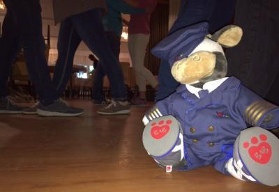 (Foto: Bußmann) Wilma beim Tanzkurs der LJ Lengerich