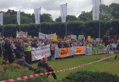 Kundgebung beim Deutschen Bauerntag Foto-Cyrener