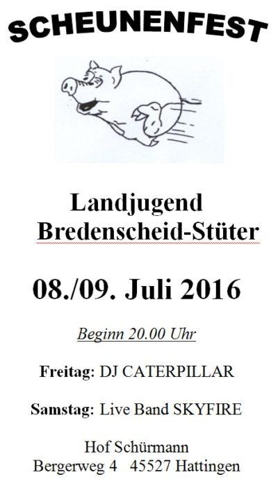 Scheunenfest Bredenscheid-Stüter