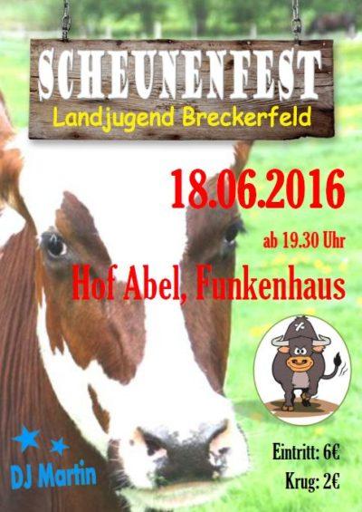 (Bild: LJ Breckerfeld) Scheunenfest LJ Breckerfeld 2016