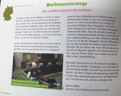 Wilma auch im BDL Spezial