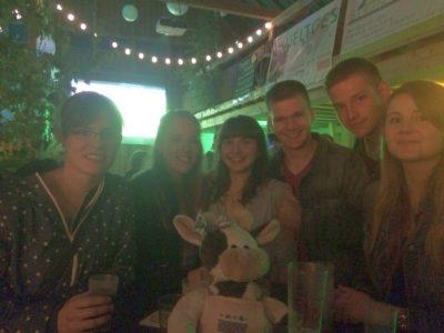 Wilma feiert zusammen mit der LJ Halver Foto-Michael