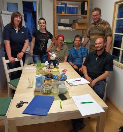 Wilma zu Gast bei der außerordentlichen Mitgliederversammlung Foto-SLJ