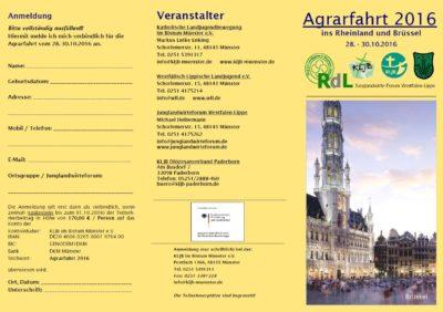 Agrarfahrt 2016