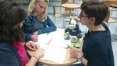 (Foto: WLL) Mittendrin! Hilft den Landjugendmitarbeiter_innen bei der Weiterentwicklung der DLA.