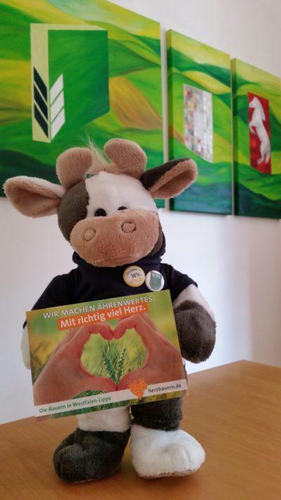 (Foto: WLL) Wilma ist in Westfalen-Lippe unterwegs, auch für die jungen Landwirte