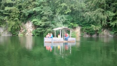 (Foto: Nolte) Mit Elektrobooten über den See