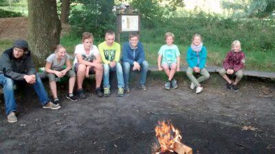 Lagerfeuer am Wald Foto-Nolte