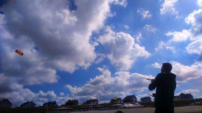 (Foto: LJ Halver) Drachen steigen lassen in Zandvoort