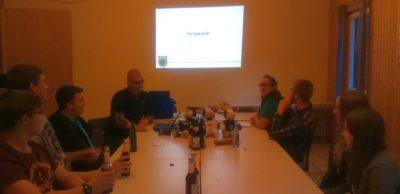 (Foto: LJ Halver) TÜV-Abend zum Thema Fetenrecht