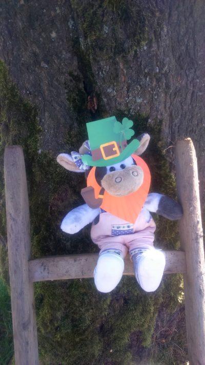 (Foto: Michael) Wilma wünscht Frauke viel Spaß in Irland