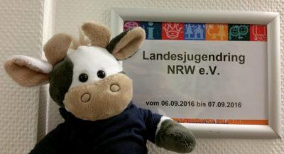 (Foto: WLL) Wilma beim Landesjugendring NRW