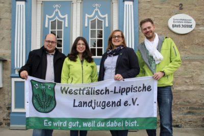 (Foto: WLL/Welpelo) Geschäftsführender Vorstand der WLL
