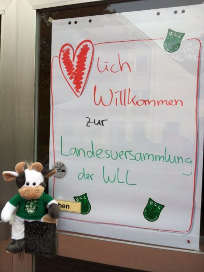 (Foto: WLL/Engberding) Herzlich Willkommen zur WLL-Landesversammlung