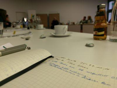 """(Foto: Jakobs) Im Arbeitskreis """"Jugend macht Politik"""" (AK JumPo) des Bundes der Deutschen Landjugend wird über wichtige Jugendpolitische Themen des Ländlichen Raumes auf Bundesebene diskutiert. Die WLL ist auch immer mit dabei."""
