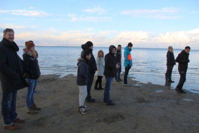 (Foto: WLL/Welpelo) Die Nordsee erkunden.