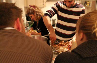 (Foto: WLL/Welpelo) Die Küche ist der meist genutzte Ort.